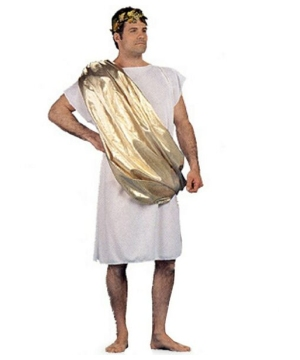 Golden Toga Mens Costume