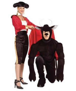 Toro the Terri Bull Adult Costume
