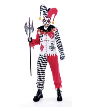 Twisted Joker Costume - Adult Costume