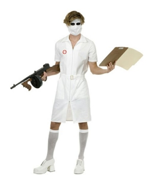 Twisted Nurse Adult Costume