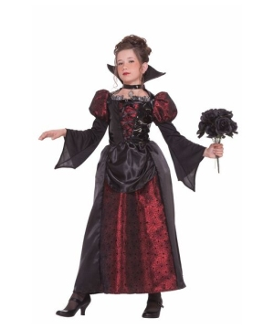 Vampire Miss Kids Costume