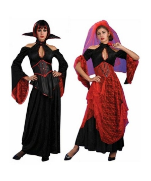 Vampire Spanish Dancer Reversible Adult Costume