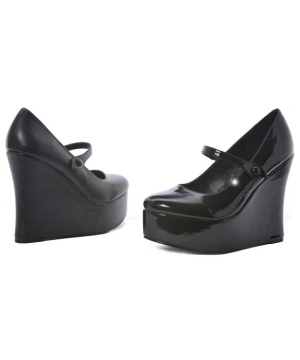 Wedge Adult Shoes -(black)