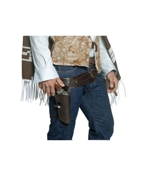 Western Gunman Belt and Holster - Adult Accessory