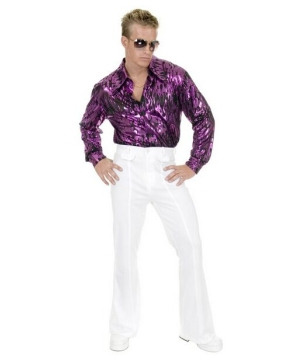 White Disco Pants - Adult Costume