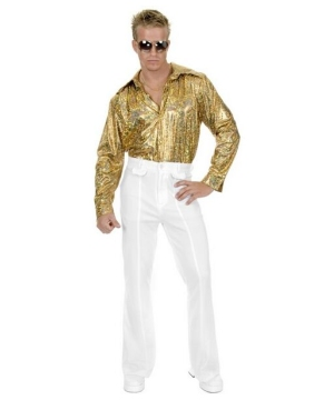 White Disco Pants - Adult plus size Costume