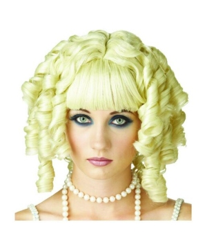 Blonde Ghost Doll Adult Wig