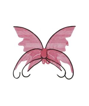Butterfly Wings Pink/black