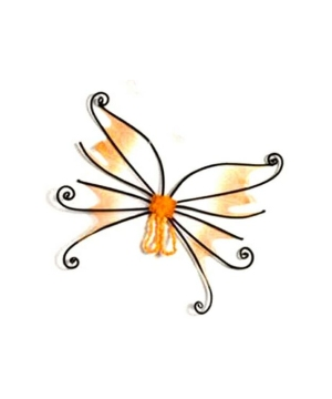Spider Fairy Wings - Adult Wings - Orange/black