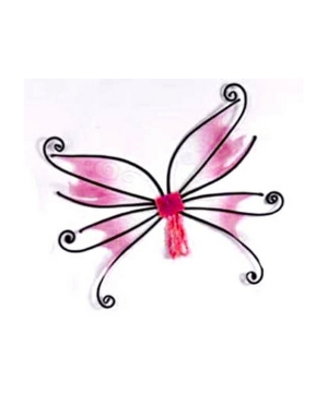Spider Fairy Wings - Adult Wings - Pink/black