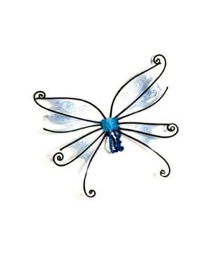 Spider Fairy Wings - Adult Wings - Blue/black