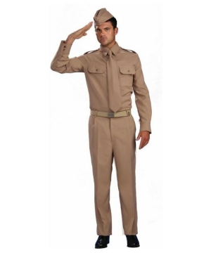 World War Ii Private Costume - Adult Costume
