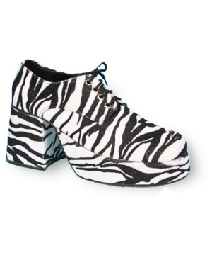 Zebra Platform Shoes - Adult Shoes