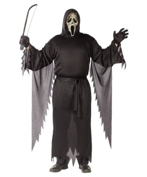 Zombie Ghost Face Adult plus size Costume