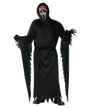 Bleeding Zombie Ghost Face Men Costume