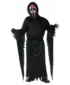 Bleeding Zombie Ghost Face Kids Costume