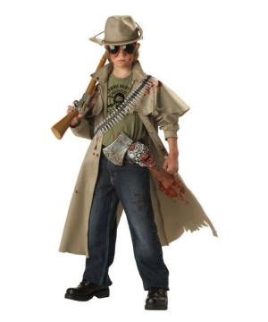 Zombie Hunter Kids Costume