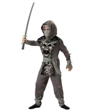 Zombie Ninja Boys Costume