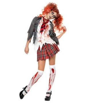 Zombie School Women Costume