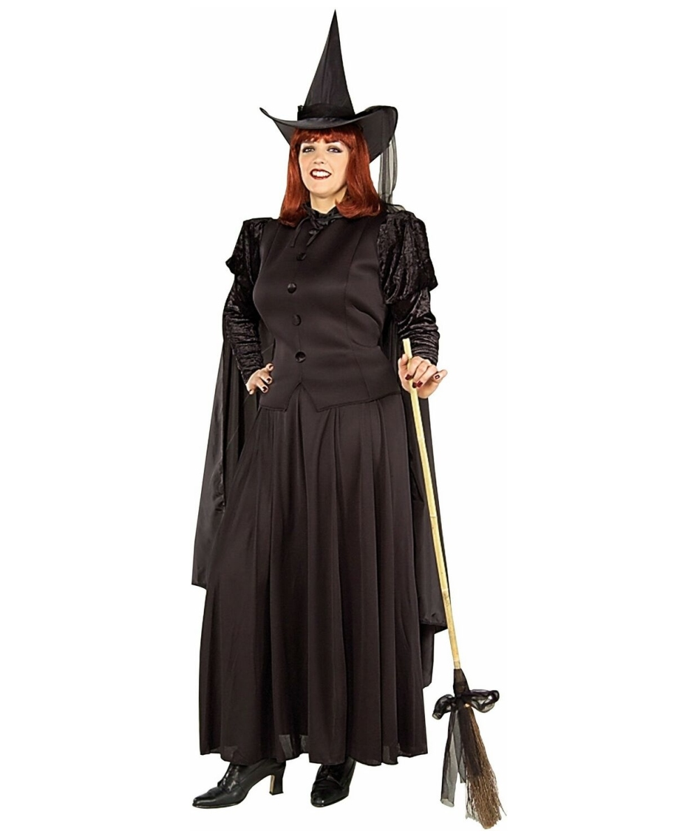 Plus Size Couture Witch Halloween Costume |Plus Size Halloween Costumes Witch