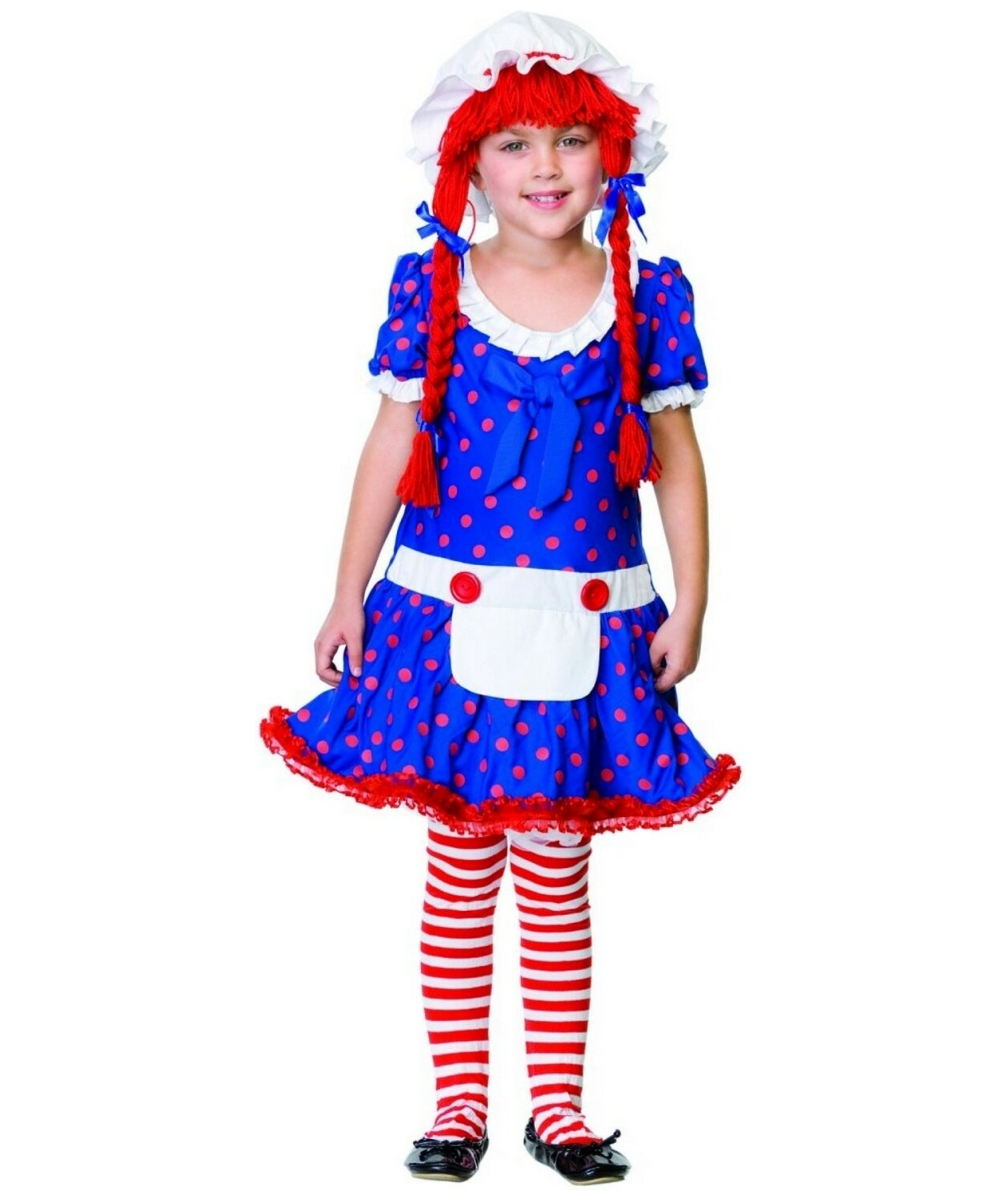 Raggedy Ann Kids Costume Raggedy Ann Hat And Wig Adult Costume Sc