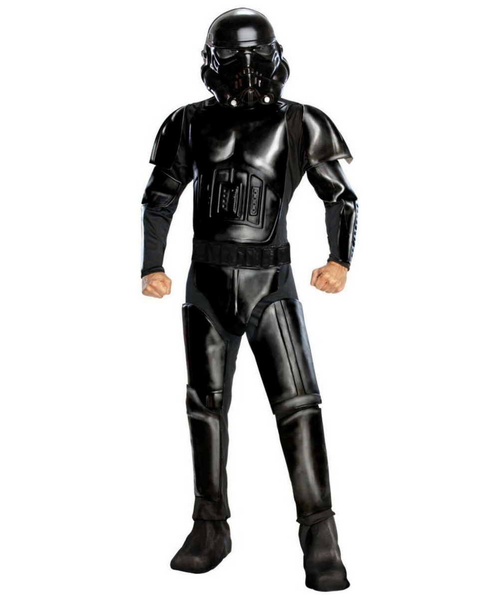 Black Shadow Stormtrooper Costume Adult Costume Movie