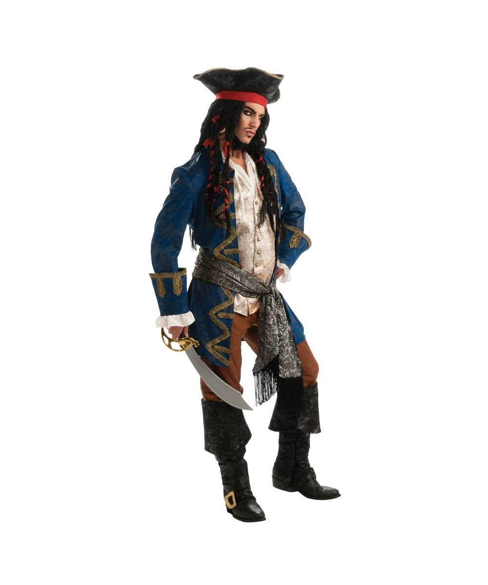 Blue Pirate  Costume