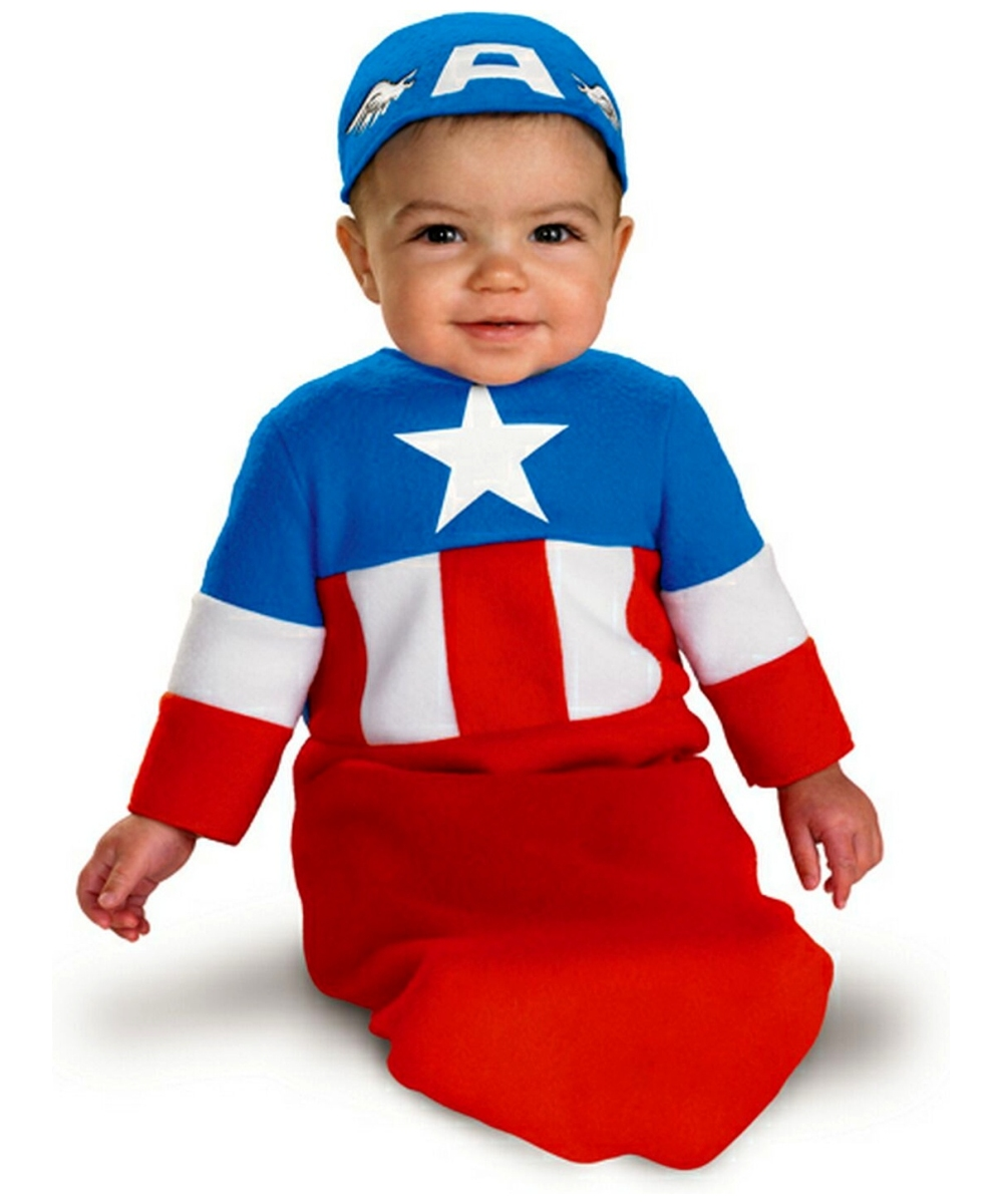 View in Gallery Infant pumpkin onesie Captain America Baby Movie Costume Boys Superhero Costumes  sc 1 st  Baby Bryone & 18 Best Infant 0 6 Months Halloween Costumes - Baby Bryone