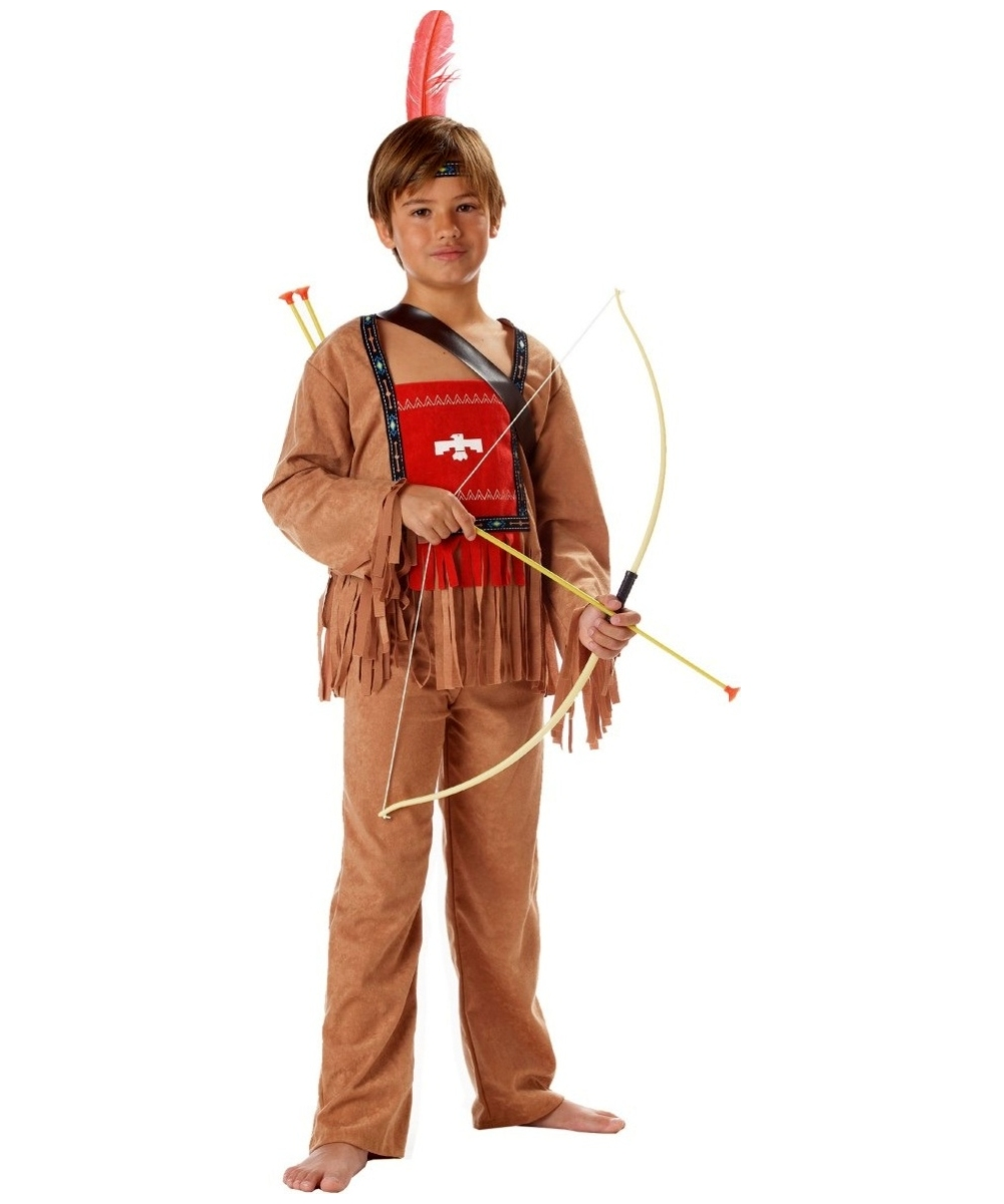 Running Bull Indian Boys Costume