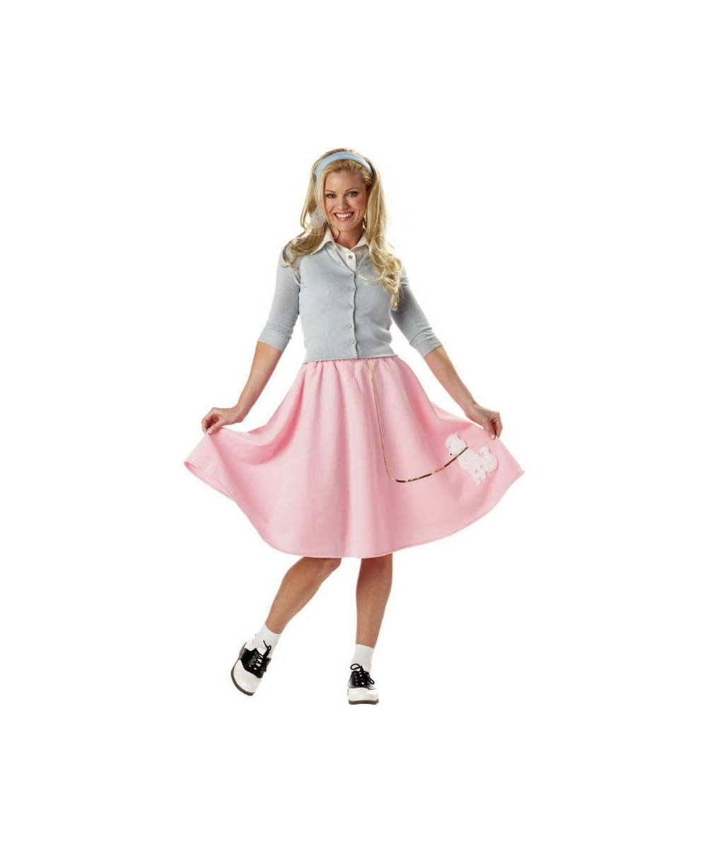 poodle skirt 50s costume costumes