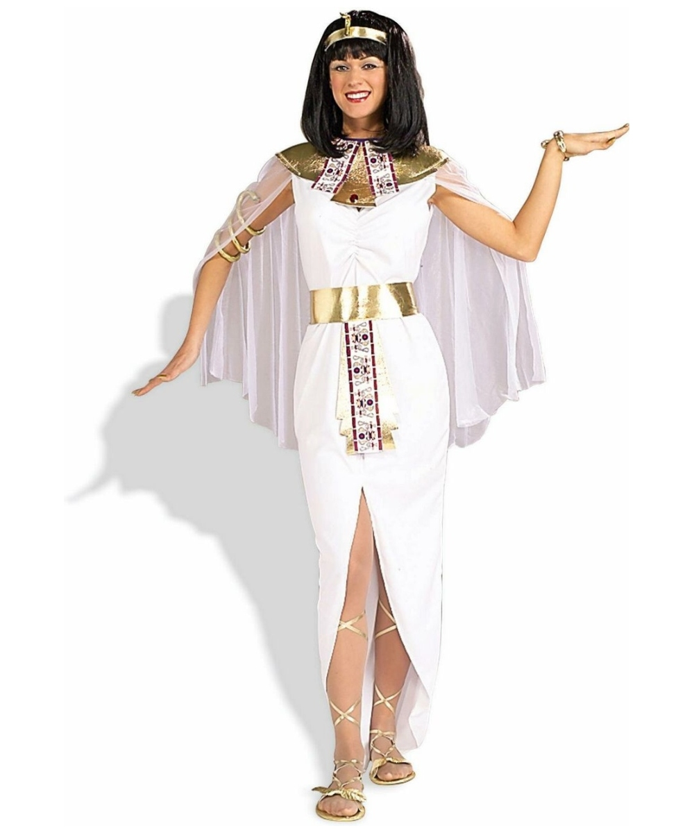 White Cleopatra Women Costume