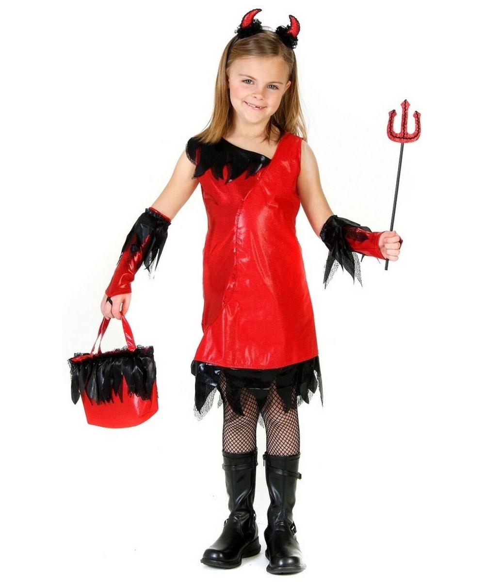 Devil Girl Kids Costume - Girl Devil Halloween Costumes