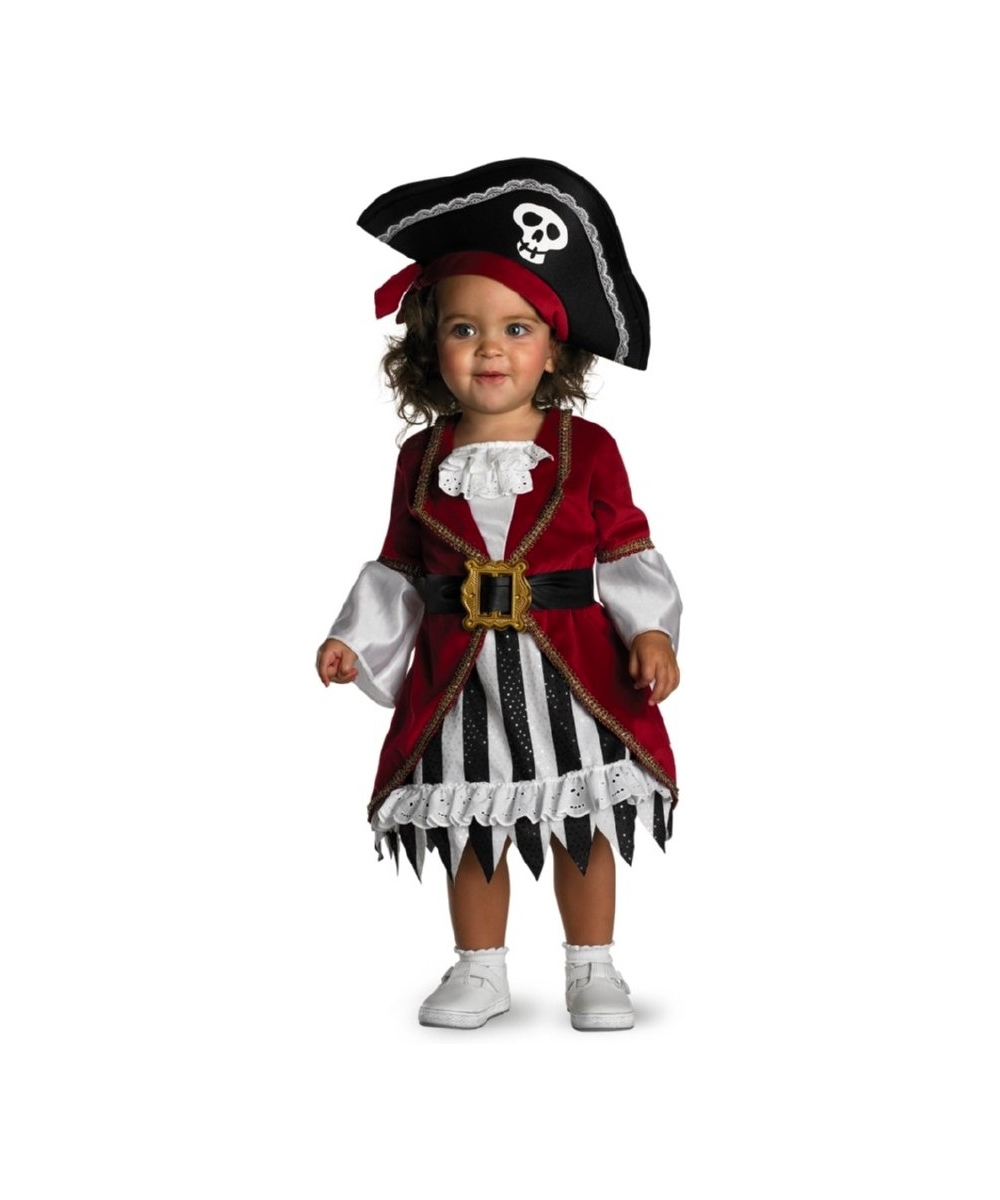 Pirate Princess Baby Costume Girls