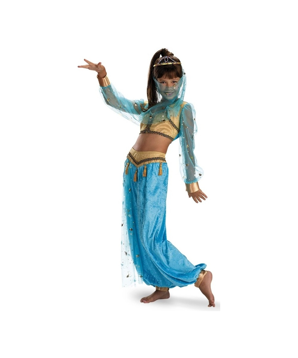 Kids Mystical Genie Girls Costume Deluxe