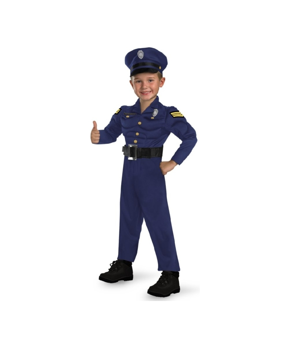 officer awesome costume - toddler costume