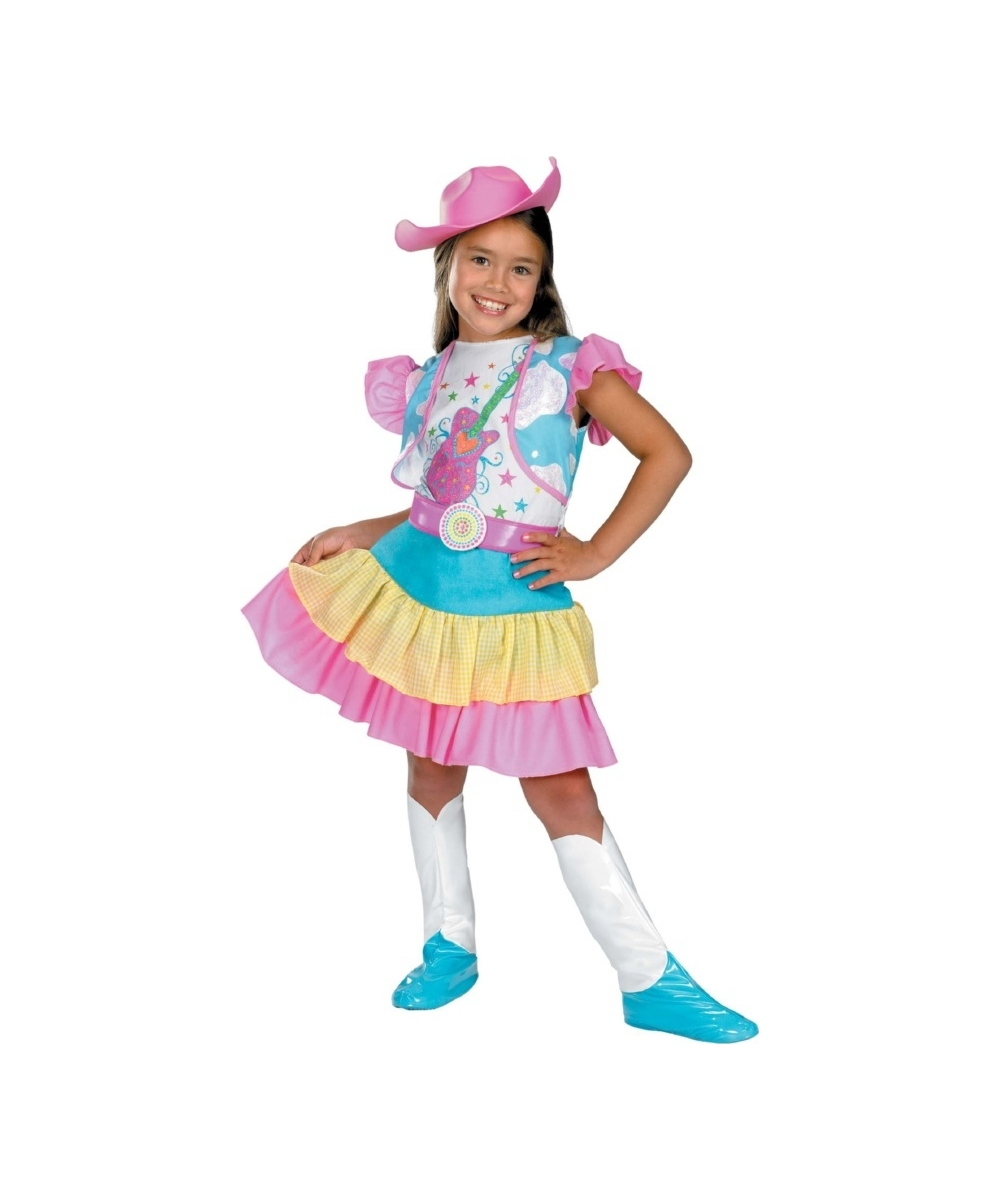Kids Rodeo Sweetheart Girl Costume