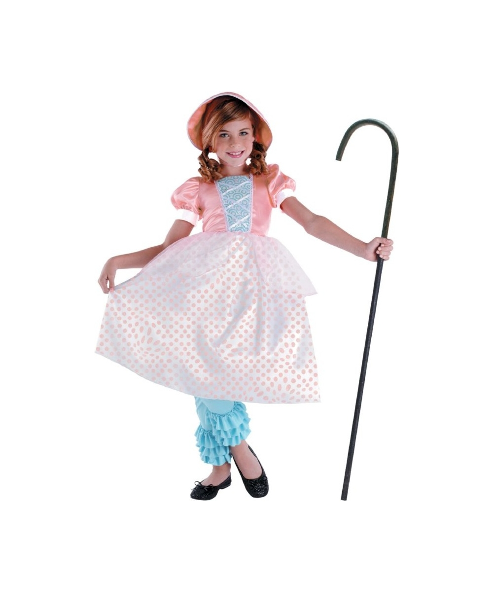 Kids Toy Story Bo Peep Girls Costume Deluxe