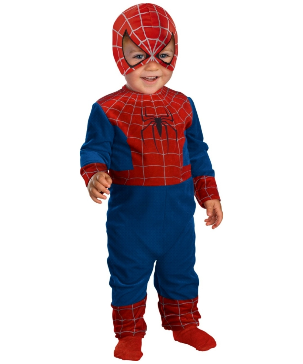 Little Spiderman Baby Costume