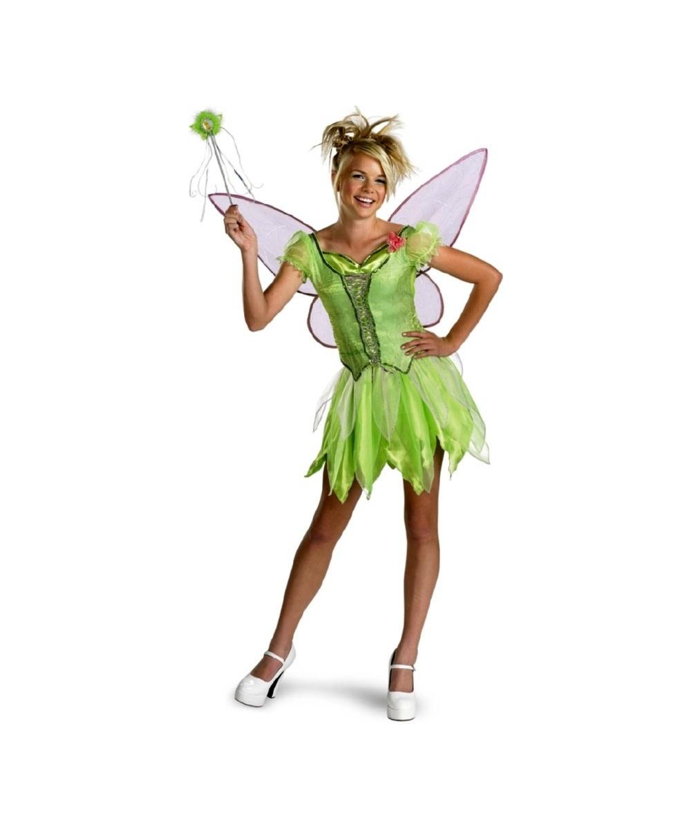 tinkerbell kids disney costume disney girls costumes. Black Bedroom Furniture Sets. Home Design Ideas