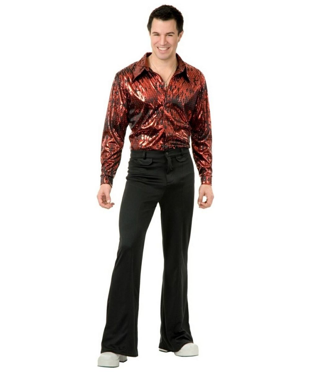 disco shirt hologram costume costumes