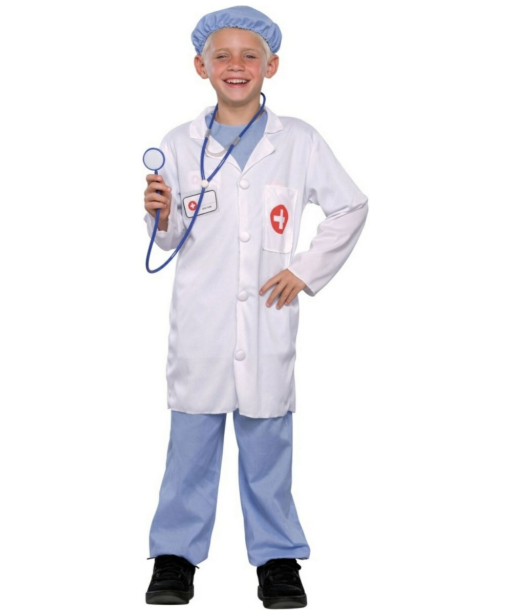 Doctor Child Costume  sc 1 st  Meningrey & Kids Doctor Halloween Costume - Meningrey