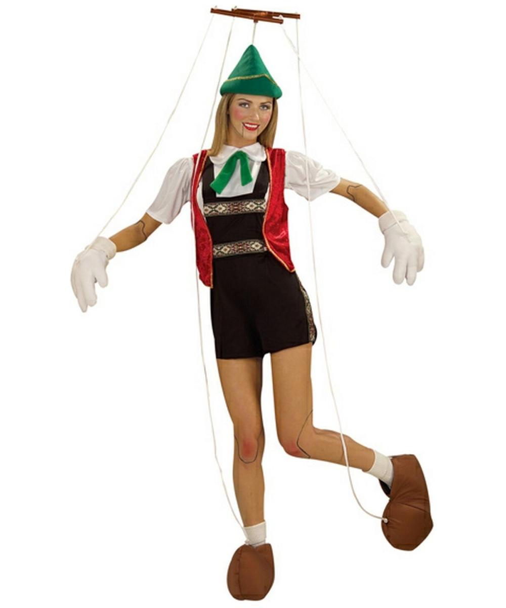Adult Pinocchio Disney Costume - Women Costumes