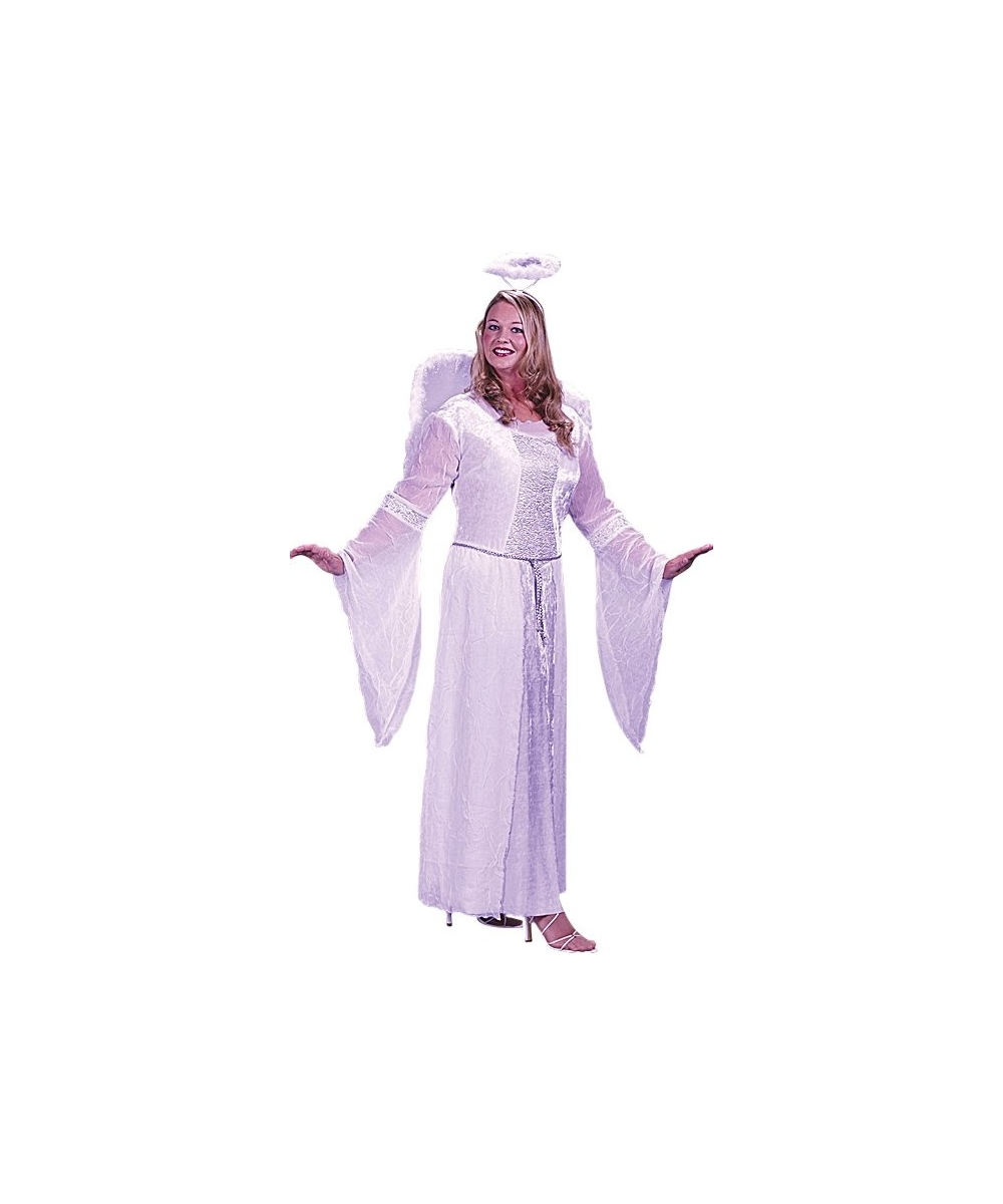 White Angel Costume - Adult Halloween Costumes