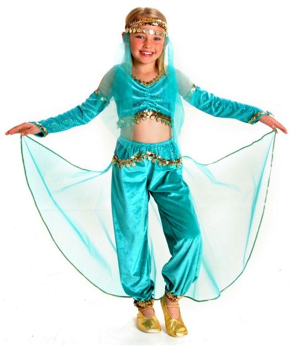 Genie Child Costume - Girl Genie Costumes Genie Girl Costume