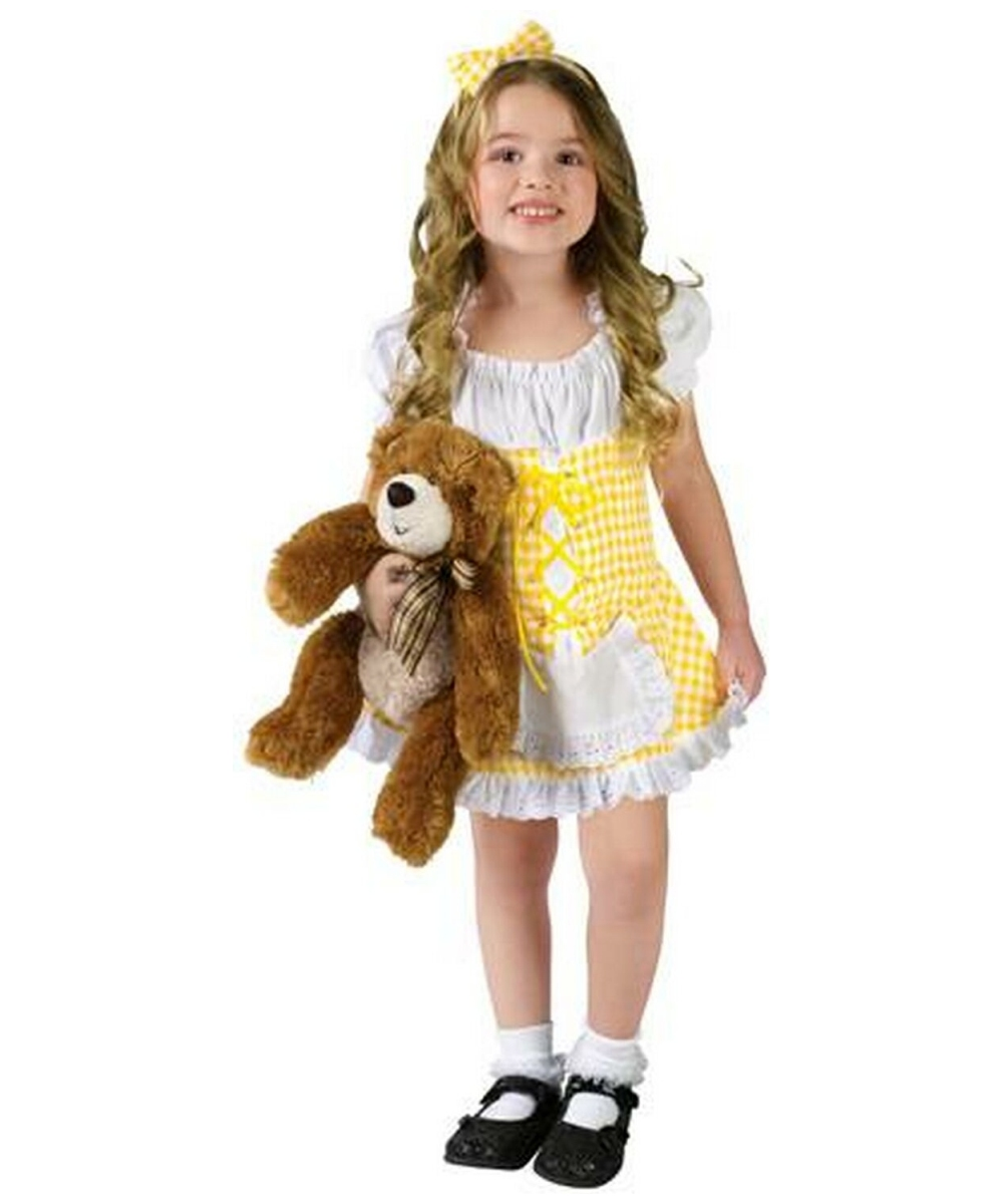 goldilocks costume toddler costume fairytale halloween costume at wonder costumes - Goldilocks Halloween Costumes