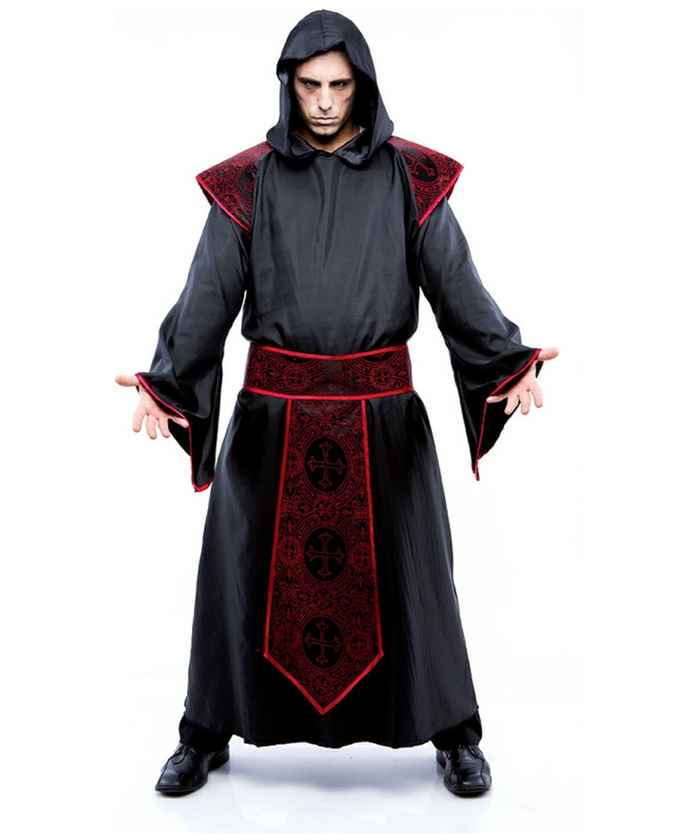 Adult Gothic Priest Costume - Men Priest Costumes