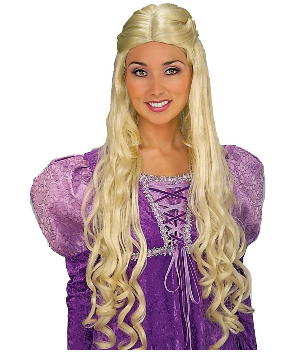 Guinevere Costumes Adults Guinevere Wig Blonde Adult