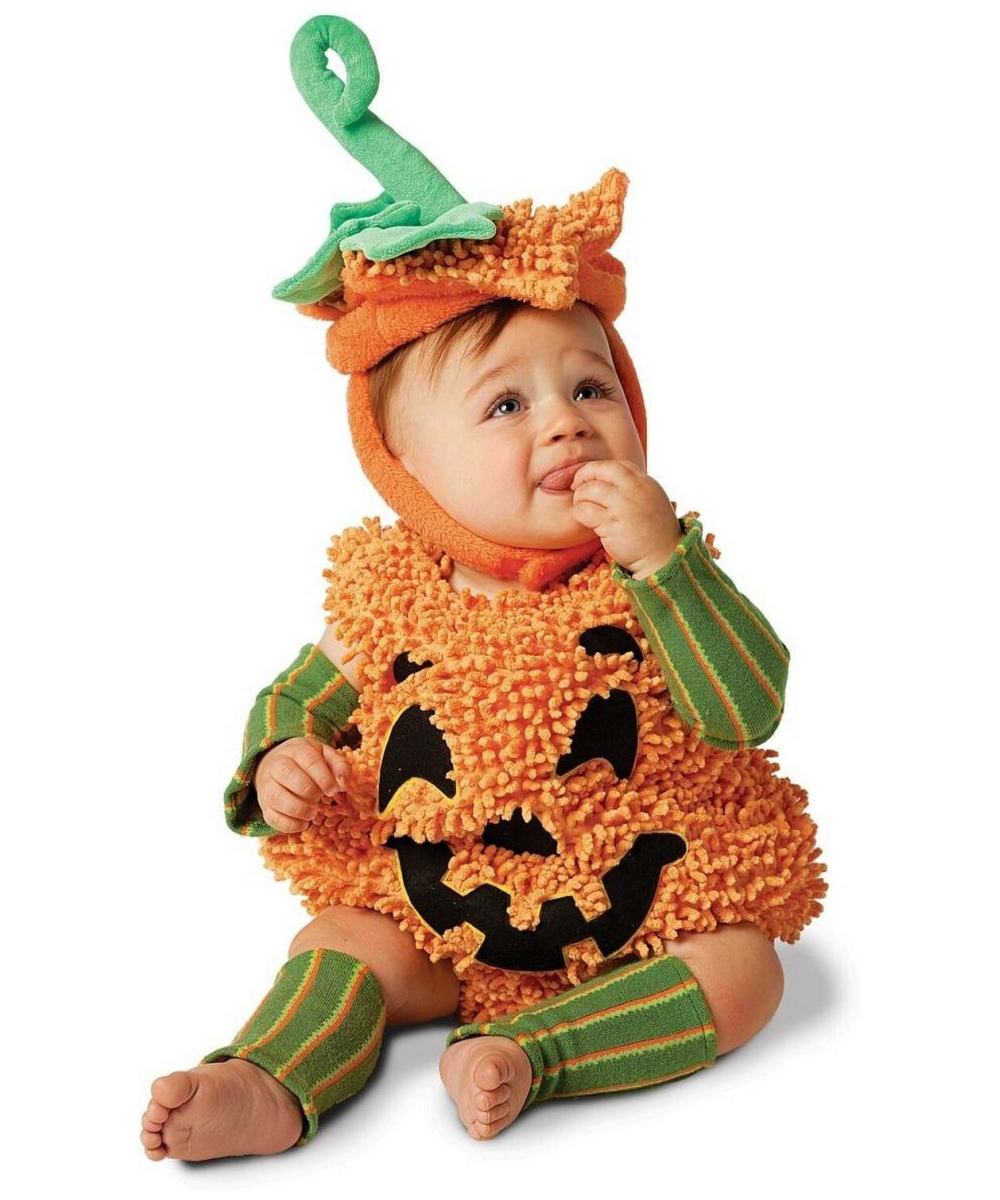 Pumpkin baby halloween costume girls pumpkin costumes - Costume halloween bebe ...