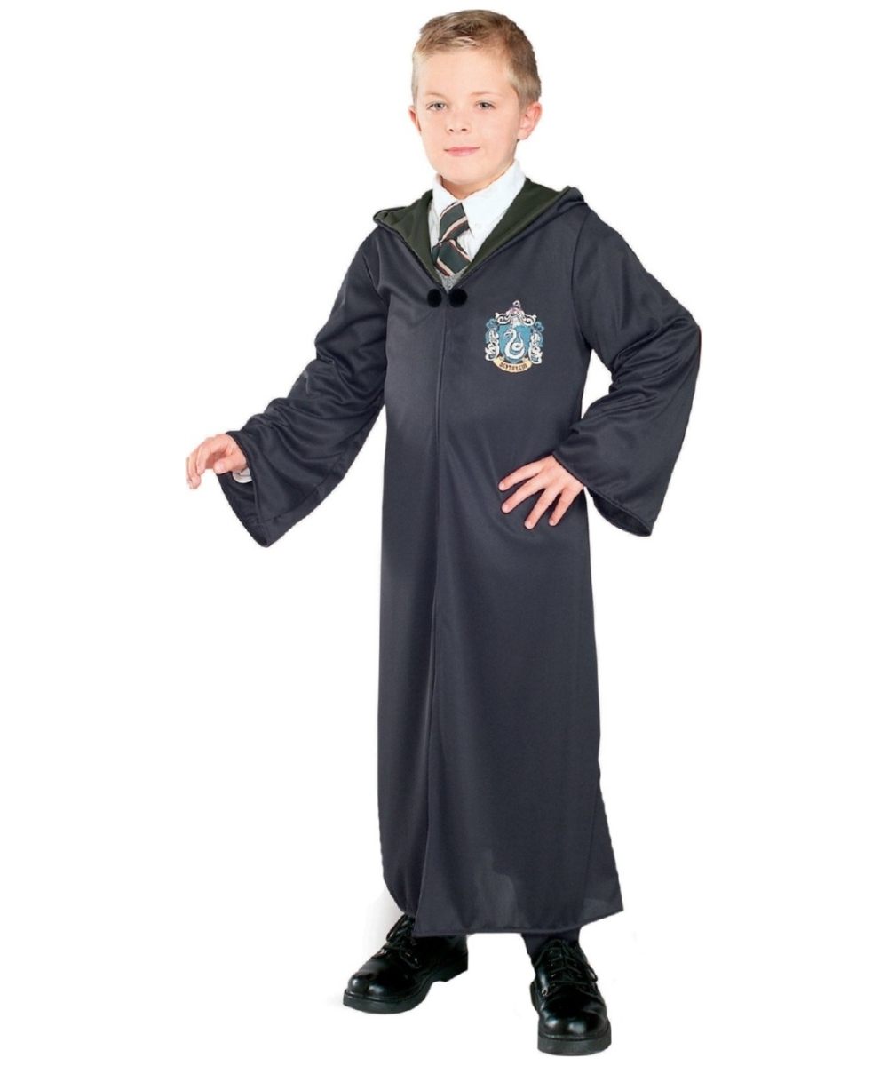 kids harry potter slytherin robe movie halloween costume. Black Bedroom Furniture Sets. Home Design Ideas