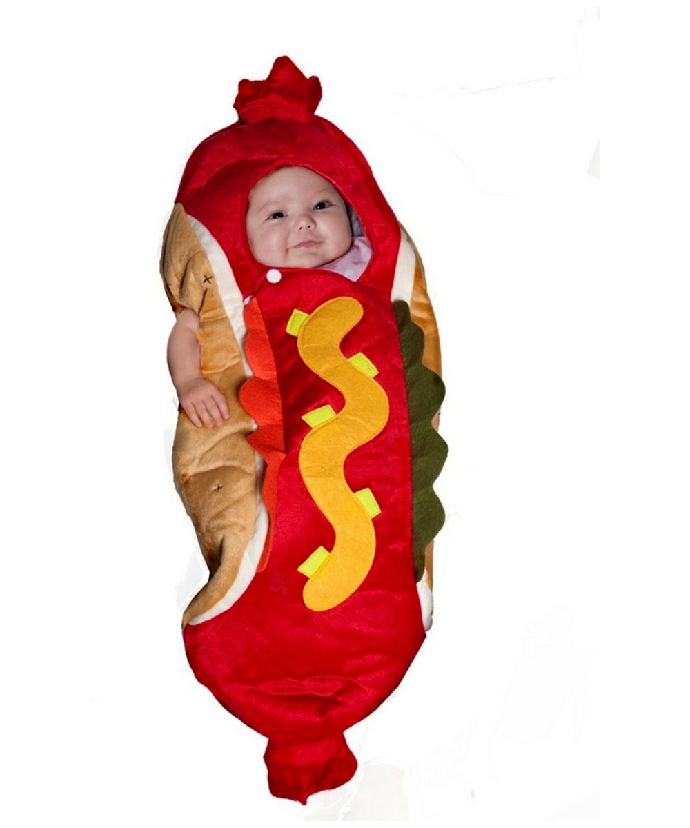 hot dog baby pet costume halloween costume. Black Bedroom Furniture Sets. Home Design Ideas